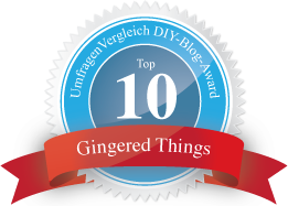 Gingered Things Blog Award