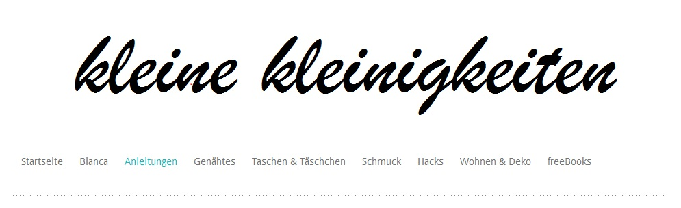 Header vom Blog