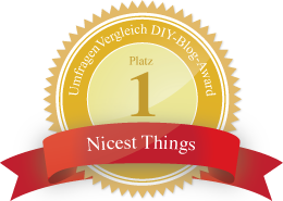 Nicest Things DIY Blog Award