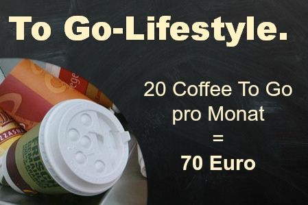 Coffee to go und andere Lifestyle Produkte